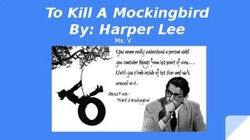 To Kill A Mockingbird PowerPoint