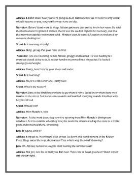 To Kill A Mockingbird Reader's Theater chapter 8