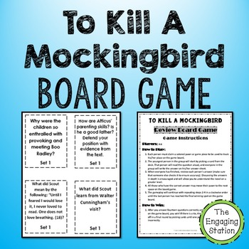To Kill A Mockingbird Review Board Game