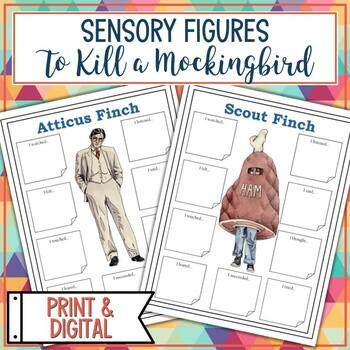 To Kill A Mockingbird Sensory Figures