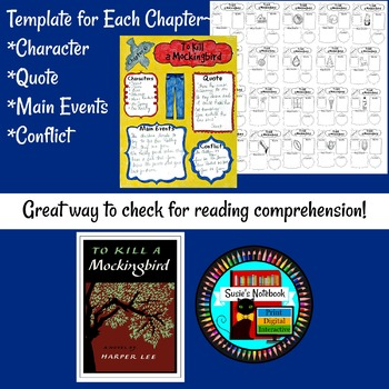 To Kill A Mockingbird Sketch Notes Chapter Guides