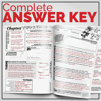 {To Kill A Mockingbird} Student Workbooks