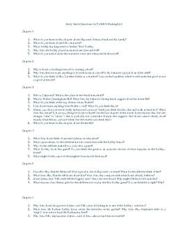 To Kill A Mockingbird Study Guide