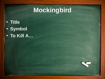 To Kill A Mockingbird Taboo