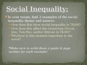 to kill a mockingbird social inequality