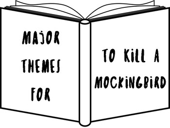 To Kill A Mockingbird Theme Posters with Quotes!