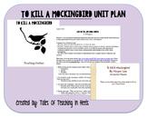 To Kill A Mockingbird Unit-Common Core Aligned