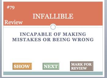 To Kill A Mockingbird Vocabulary Flash Card Review Game