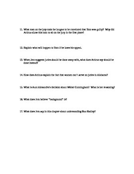 To Kill A Mockingbird chapters 22-23 study guide