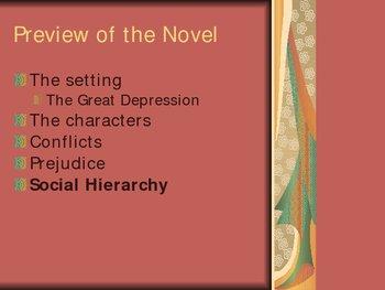 To Kill a Mockingbird-Themes of Novel (Harper Lee) Powerpoint