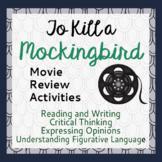 To Kill a Mockingbird Movie Review Activity