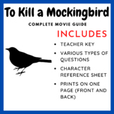To Kill a Mockingbird (1962) - Complete Movie Guide