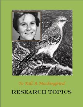 To Kill a Mockingbird - 28 Research Topics