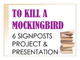 To Kill a Mockingbird 6 Signposts Project & Presentation