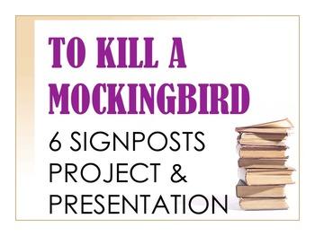 To Kill a Mockingbird 6 Signposts Project & Presentation