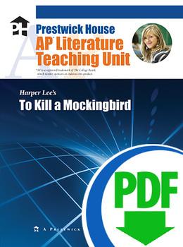 To Kill a Mockingbird AP Teaching Unit