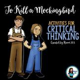 To Kill a Mockingbird Activities