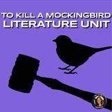 """To Kill a Mockingbird"" Activities, Exams, Quizzes, Vocab - UNIT"
