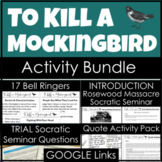 To Kill a Mockingbird Activity Bundle with Trial, Quotes, Introduction, and More