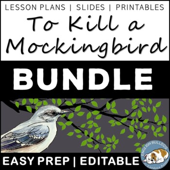 To Kill a Mockingbird Activity Mini Bundle