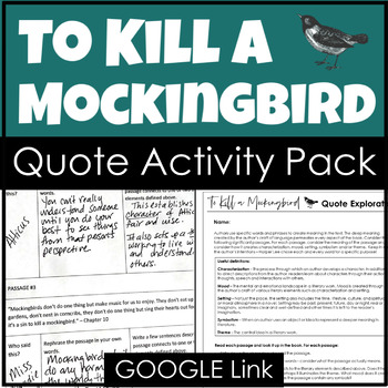 to kill a mocking bird analytical 953 quotes from to kill a mockingbird (to kill a mockingbird, #1): 'you never really understand a person until you consider things from his point of view.