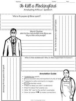 To Kill a Mockingbird: Analyzing Atticus' Closing Statement