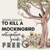 To Kill a Mockingbird Anticipation Guide (Print + Google R