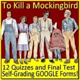 To Kill a Mockingbird Quiz and Test Bundle Common Core Aligned
