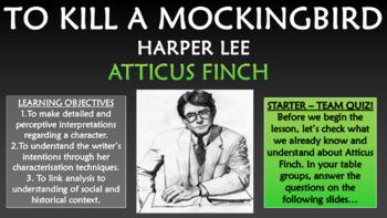 To Kill a Mockingbird - Atticus Finch