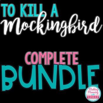 To Kill a Mockingbird BUNDLE