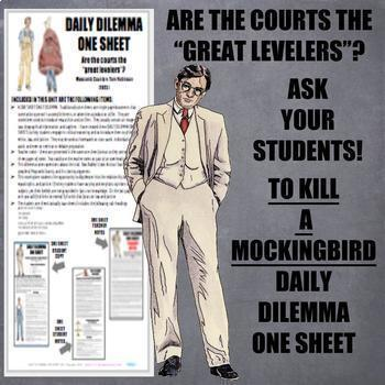 TO KILL A MOCKINGBIRD: BUNDLE (Google Classroom, Daily Dilemma, Analytical Q)