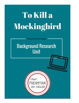 To Kill a Mockingbird Background Research Project
