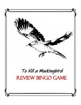 To Kill a Mockingbird Bingo Review Game