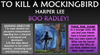 To Kill a Mockingbird - Boo Radley!