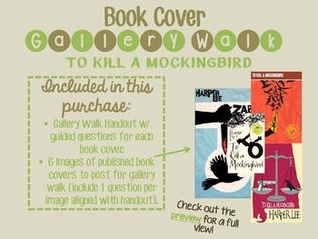 To Kill a Mockingbird Book Cover Gallery Walk