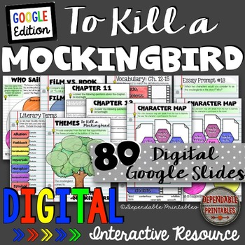 To Kill a Mockingbird Bundle: Digital Google Edition
