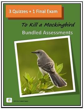 To Kill a Mockingbird Bundled Assessements