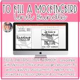 To Kill a Mockingbird CCSS Unit Bundle Gr. 8-11