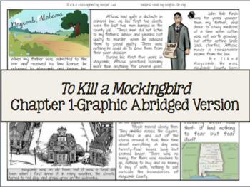 To Kill a Mockingbird-Chapter 1, Abridged, Graphic Chapter