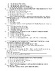 To Kill a Mockingbird Chapter 1 SOL Quiz
