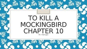 To Kill a Mockingbird Chapter 10 Visual Guide
