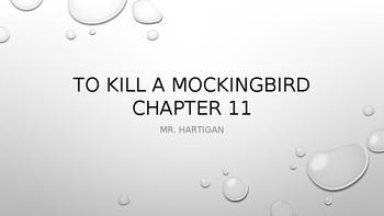 To Kill a Mockingbird Chapter 11 Visual Guide