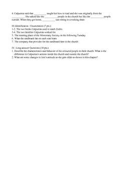 To Kill a Mockingbird Chapter 12 Quiz