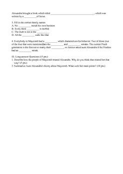 To Kill a Mockingbird Chapter 13 Quiz