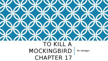 To Kill a Mockingbird Chapter 17 Visual Guide