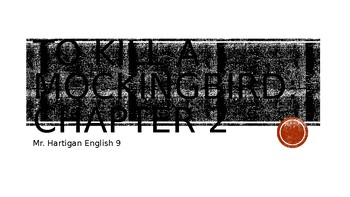 To Kill a Mockingbird Chapter 2 Visual Guide
