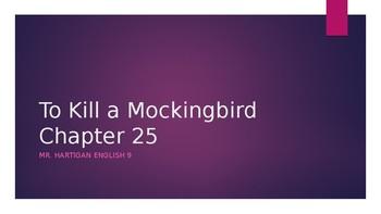 To Kill a Mockingbird Chapter 25 Visual Guide