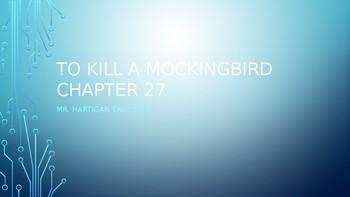 To Kill a Mockingbird Chapter 27 Visual Guide