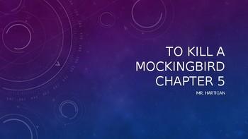 To Kill a Mockingbird Chapter 5 Visual Guide
