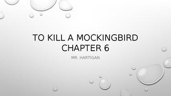 To Kill a Mockingbird Chapter 6 Visual Guide